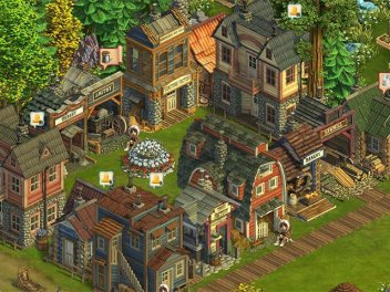 An image from the frontier farming game Klondike. The game has over 500,000 users